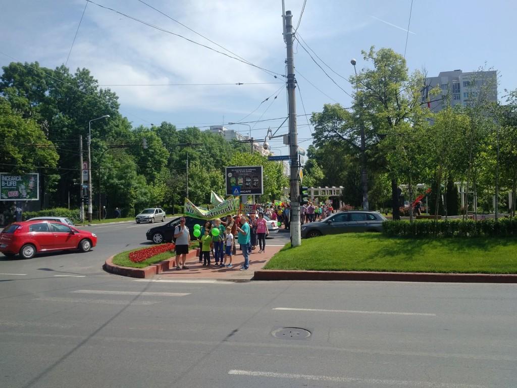 marș pentru Parcul Brâncuși