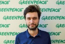 Greenpeace despre vinieta din Capitală